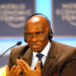 Author Abdoulaye Wade