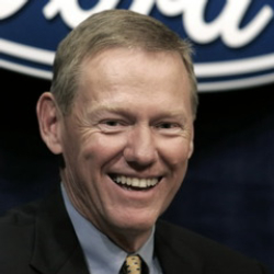 Author Alan Mulally
