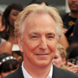 Author Alan Rickman