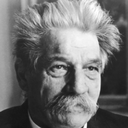 Author Albert Schweitzer