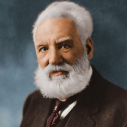 Author Alexander Graham Bell