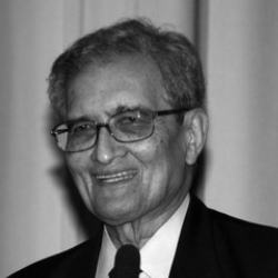 Author Amartya Sen