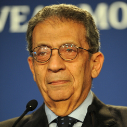 Author Amr Moussa