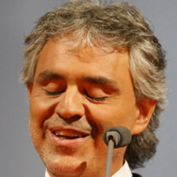 Author Andrea Bocelli