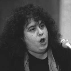 Author Andrea Dworkin