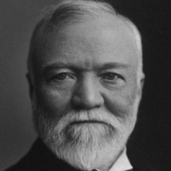 Author Andrew Carnegie