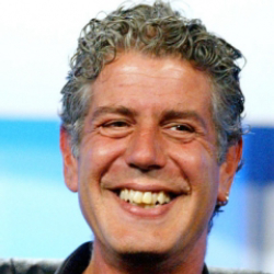 Author Anthony Bourdain