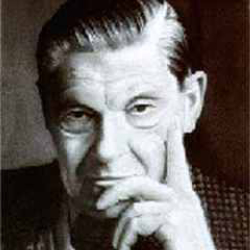 Author Arthur Koestler