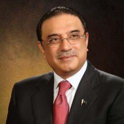 Author Asif Ali Zardari