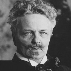 Author August Strindberg