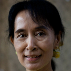 Author Aung San Suu Kyi