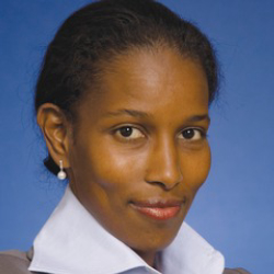 Author Ayaan Hirsi Ali