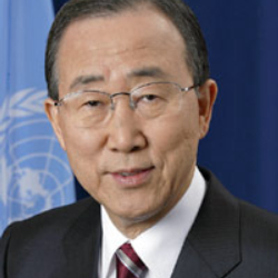 Author Ban Ki-moon