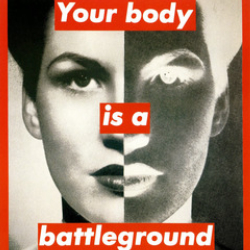 Author Barbara Kruger