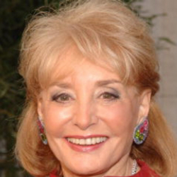 Author Barbara Walters