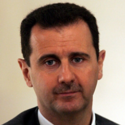 Author Bashar al-Assad