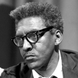 Author Bayard Rustin