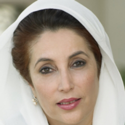 Author Benazir Bhutto