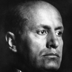 Author Benito Mussolini