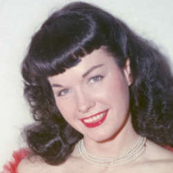Author Bettie Page