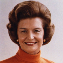 Author Betty Ford