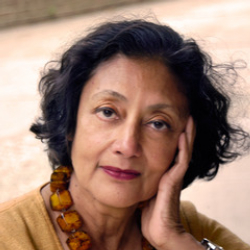 Author Bharati Mukherjee