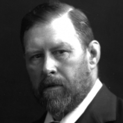 Author Bram Stoker