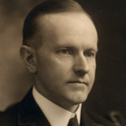 Author Calvin Coolidge