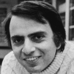 Author Carl Sagan