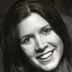 Author Carrie Fisher