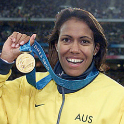 Author Cathy Freeman