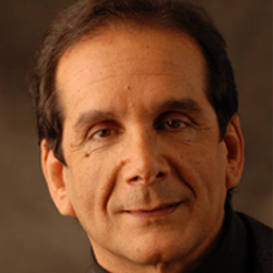 Author Charles Krauthammer