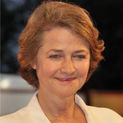 Author Charlotte Rampling