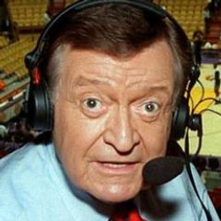 Author Chick Hearn