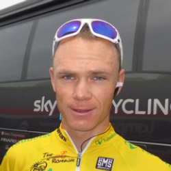 Author Chris Froome