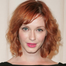 Author Christina Hendricks