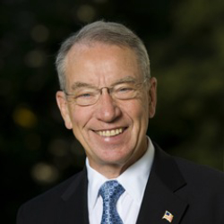 Author Chuck Grassley