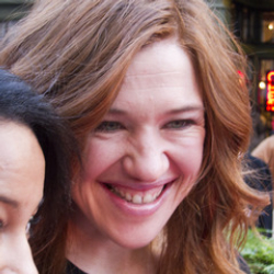 Author Clara Hughes