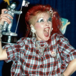 Author Cyndi Lauper