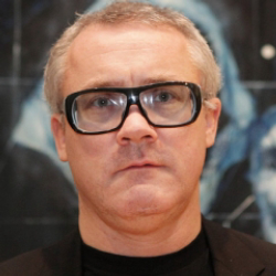 Author Damien Hirst