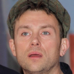 Author Damon Albarn