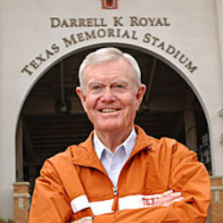 Author Darrell Royal