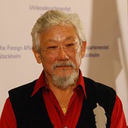 Author David Suzuki
