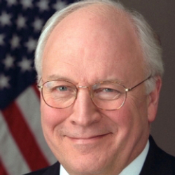 Author Dick Cheney