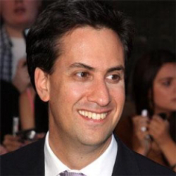 Author Ed Miliband