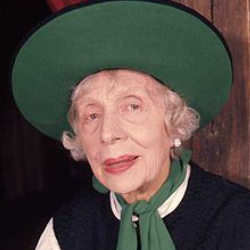 Author Edith Evans