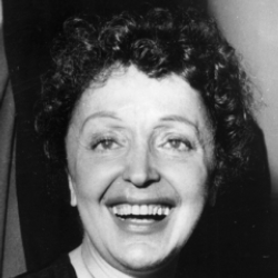 Author Edith Piaf