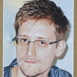 Author Edward Snowden