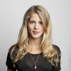 Author Emily Bett Rickards