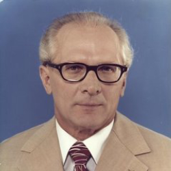 Author Erich Honecker